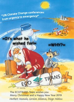 ECOTRANS Season Greetings: What a Year!