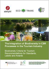 Biodiversity Criteria for Tourism: Recommendations for standards, labels and awards