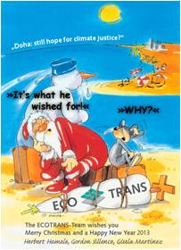 Seasons Greetings from ECOTRANS!